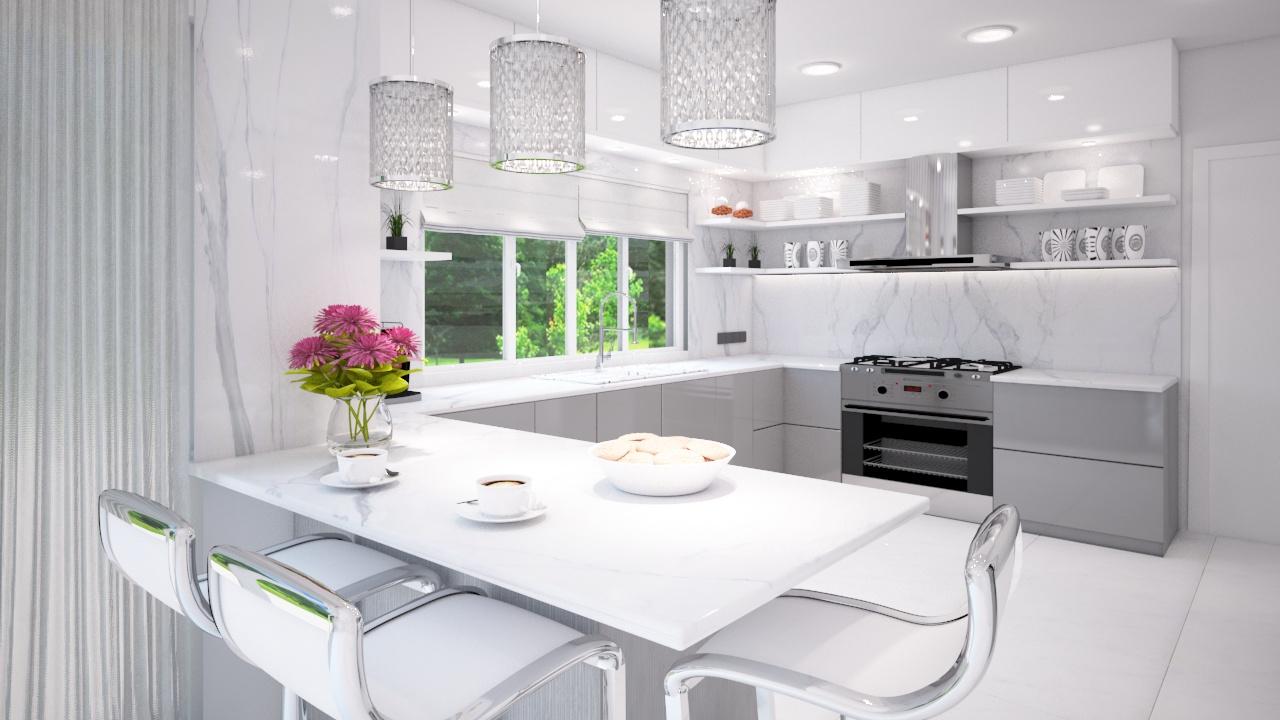 Интериорен проект-кухня